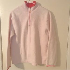 Women's Pink Old Navy 1/4 zip Pullover L